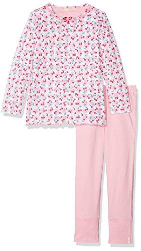 ESPRIT Mädchen Zweiteiliger Schlafanzug 018EF7Y009, Rosa (Pink 670), 104 (Herstellergröße: 104/110)