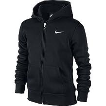 Nike 619069-010 - Sudadera con capucha para niños, color Negro (Black/