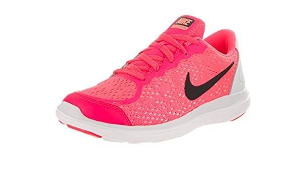 aca07d5422337 Nike Kids Flex 2017 Rn (PS) Racer Pink Black Pure Platinum Running Shoe 13  Kids US  Buy Online at Low Prices in India - Amazon.in