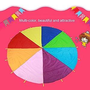 Los Niños juegan Arco iris paracaídas para niños juego AL aire libre Preescolar de desarrollo paracaídas por la…