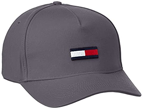 Hilfiger Denim Men's Thdm Flag 11 Baseball Cap, Gray (Ebony),