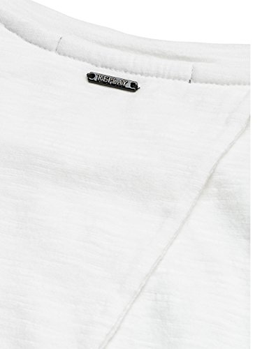 Replay W3891b.000.20760, T-Shirt Femme Blanc (Optical White 1)