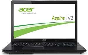 Acer Aspire V3-772G-747a161.12TMakk 43,9 cm (17,3 Zoll) Notebook (Intel Core i7 4702MQ, 2,2GHz, 16GB RAM, 120GB SSD, +1000GB HDD, NVIDIA GTX 760M, DVD, Win 8) schwarz