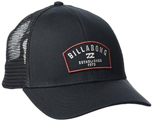 Billabong Herren Wharf Trucker Kopf tragen U schwarz (Billabong Trucker Hut)