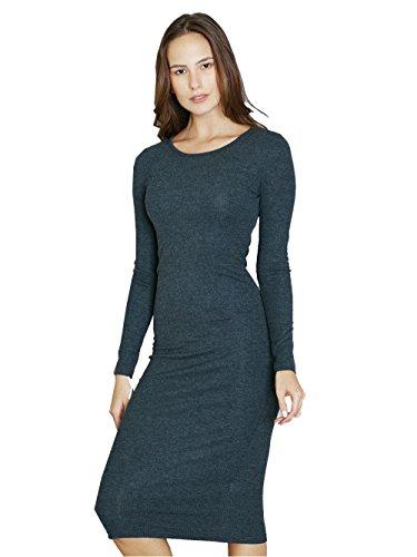 Jollychic Damen Schlauch Kleid Grau