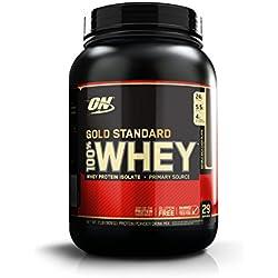 Optimum Nutrition 100% Whey Protéine Gold Standard - Double chocolat, 29 Portions - A base de Isolate / Concentré / Hydrolysé, 0,9 kg