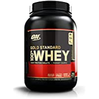 Optimum Nutrition Gold Standard Whey Protein Powder, Double Rich Chocolate, 908 g