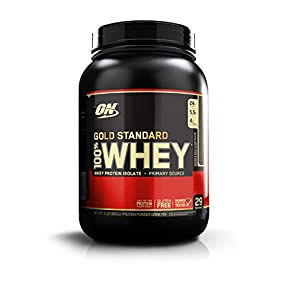 Optimum Nutrition Whey Gold Standard Protein, Double Rich Chocolate, 1er Pack (1 x 908g)