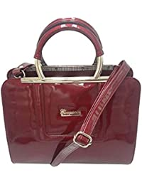 Purse Collection Elegance Women's Synthetic Leather Red Purse/girl Purse Fancy Sling Bag Leather/girl Purse Fancy...