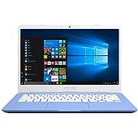 ASUS VivoBook E406SA-BV133T 14 Inch HD NanoEdge Laptop (Iris Blue) (Intel Celeron N3060, 4 GB RAM, 32 GB eMMC, Windows 10 S with Microsoft Office 365)