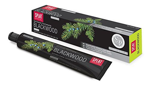 Splat Zahncreme blackwood Whitening im Test
