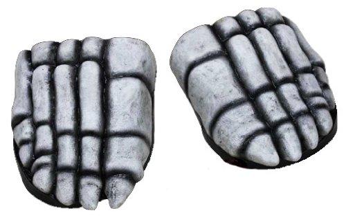 Skelett Fuß Schuhüberzieher