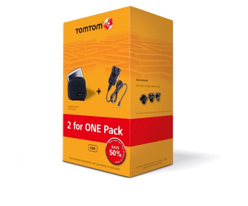 Tomtom One Travel Pack (Tragetasche und USB Ladegerät (Home Charger)) Gps-home Charger
