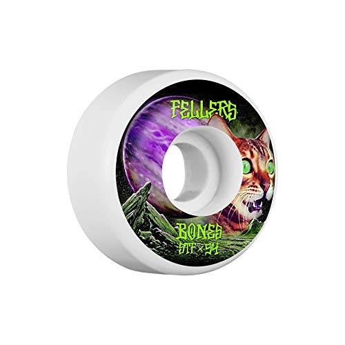 Bones STF Fellers Galaxy Cat V3 Skateboard-Räder, 54 mm (Bones Stf 54mm)