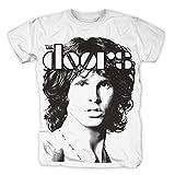 The Doors - Jim Band T-Shirt, weiss, Größe:M