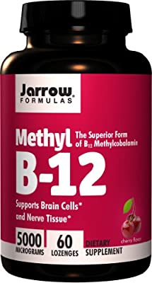 Jarrow Formulas - Methyl B-12, 5000 mcg, 60 lozenges by Jarrow Formulas
