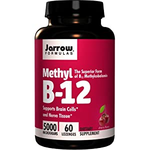 Jarrow Formulas - Methyl B-12, 5000 mcg, 60 lozenges