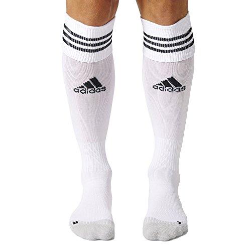 adidas Herren Fußballsocken Adisocks 12, X20992 - Einzelne Paare - Weiß (White/Black) , 37-39