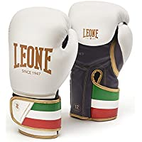 Leone 1947 GN039 Guantes de Boxeo, Unisex – Adulto, Blanco, 12OZ