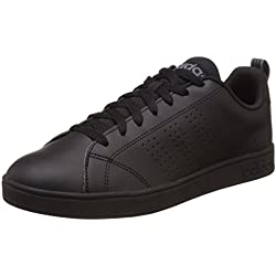 Adidas NEO Advantage Clean VS, Scarpe da Ginnastica Uomo, Nero (Negbas / Negbas / Lead), 42 EU