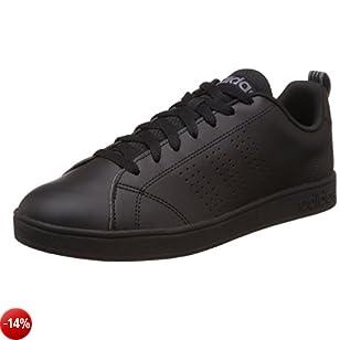 Adidas NEO Advantage Clean VS, Scarpe da Ginnastica Uomo, Nero (Negbas / Negbas / Lead), 40 EU