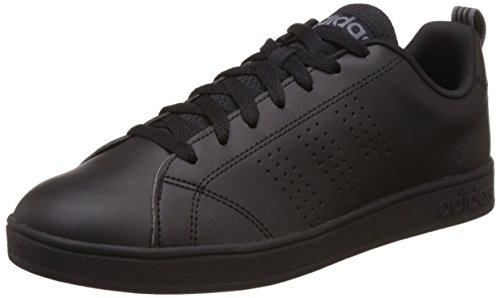 adidas Vs Advantage Clean, Baskets Homme, Noir (Core Black/Core Black/Lead 0), 42 EU