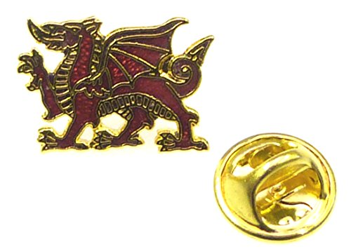 royal-welch-fusiliers-standing-dragon-lapel-pin-badgemetal-enamel