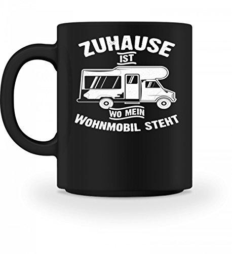 Hochwertige Tasse - Camping Camper Wohnwagen Wohnmobil Campingplatz Zuhause Geschenk