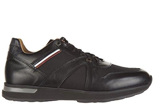 Moncler scarpe sneakers uomo in pelle nuove fabien nero EU 39 A2 09A 1011400 998