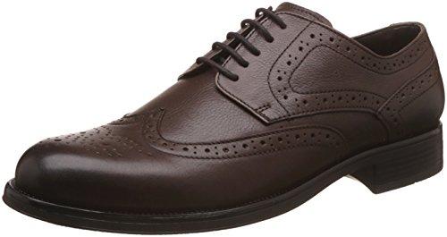 Alberto Torresi Men's Brown Leather Formal Shoes - 11 UK/India (45 EU)
