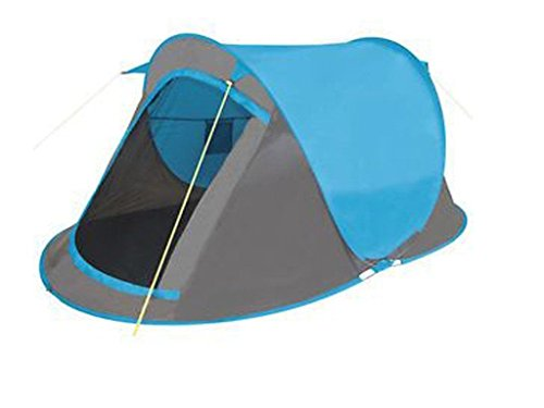 Zoom  sc 1 st  Travel Ireland & NEW 2 MAN PERSON POP UP TENT HIKING CAMPING FESTIVAL BEACH QUICK ...
