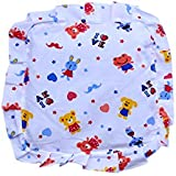 Premium Quality Mustard Seeds Baby Sleeping Pillow,New Born Baby Cotton Soft Fabric Musterd Seeds Rai Pillow For Baby Head Shaping Takiya Detachable Mustard / Rai Seed Pouch For Easy Washing By GoodLuck A To Z Born Baby Items™ (White Cartoon)