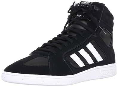 Adidas originals sixtus mid chaussures de socquettes pour homme de chaussures en cuir, autres que chaussures de sport performance cut freizeitsneakers chaussures de sport pour homme - - Blanc/noir, 39 1/3 EU