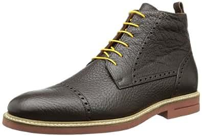 GANT Berson dark brown leather 45.1063.01.D19, Herren Schnürhalbschuhe, Braun (dark brown), EU 46
