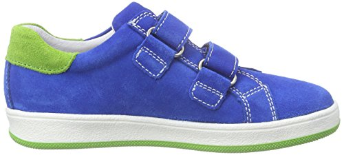 Richter Kinderschuhe Special, Baskets Basses garçon Bleu - Blau (lagoon/apple  6911)