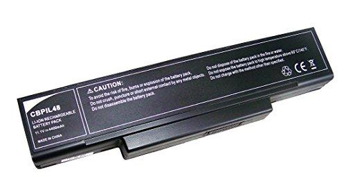 Neue Laptop-Batterie akku CBPIL48, M740BAT-6,M660BAT-6,M660NBAT-6,6-87-M74SS-4M4,6-87-M74SS-4V4,11.1V 4400mAh für Clevo M73XSR,M74X,M76X,M77X,W76X, Aristo Smart B300,W300,W350,600,G600,Wortmann Terra Mobile (15)1510,1545,1744,2300,2510,4440, Hyrican BTO NOT01256,M7626J