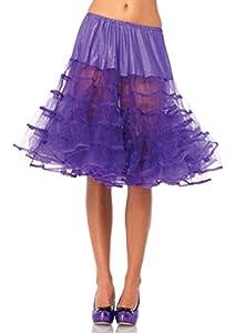 Leg Avenue- Mujer, Color morado, Talla Única (EUR 36-40) (8304322053)