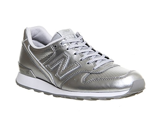 New Balance Trainers - New Balance 996 Trainers... Silver Mono