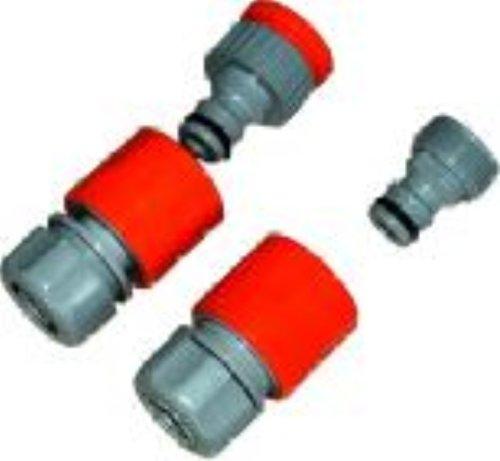 4 pièces raccord tuyau Raccord rapide connecteur V
