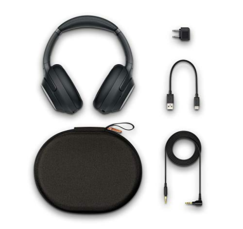 Sony WH-1000XM3 Bluetooth Noise Cancelling Kopfhörer (30h Akkulaufzeit, Touch Sensor, Headphones Connect App, Schnellladefunktion) schwarz - 18
