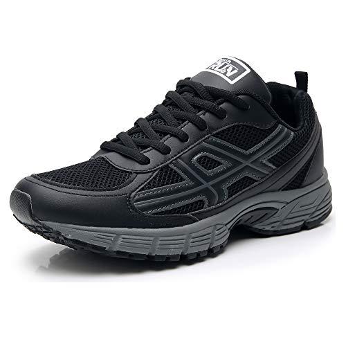 Axcone Uomo Donna Scarpe da Ginnastica Sportive Sneakers Running Basse Basket Sport Outdoor Fitness Sneakers-BN 42