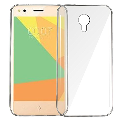 Jkobi® Exclusive Soft Silicone TPU Jelly Crystal Clear Case Soft Back Case Cover For Micromax Bharat 4 -Transparent  available at amazon for Rs.140