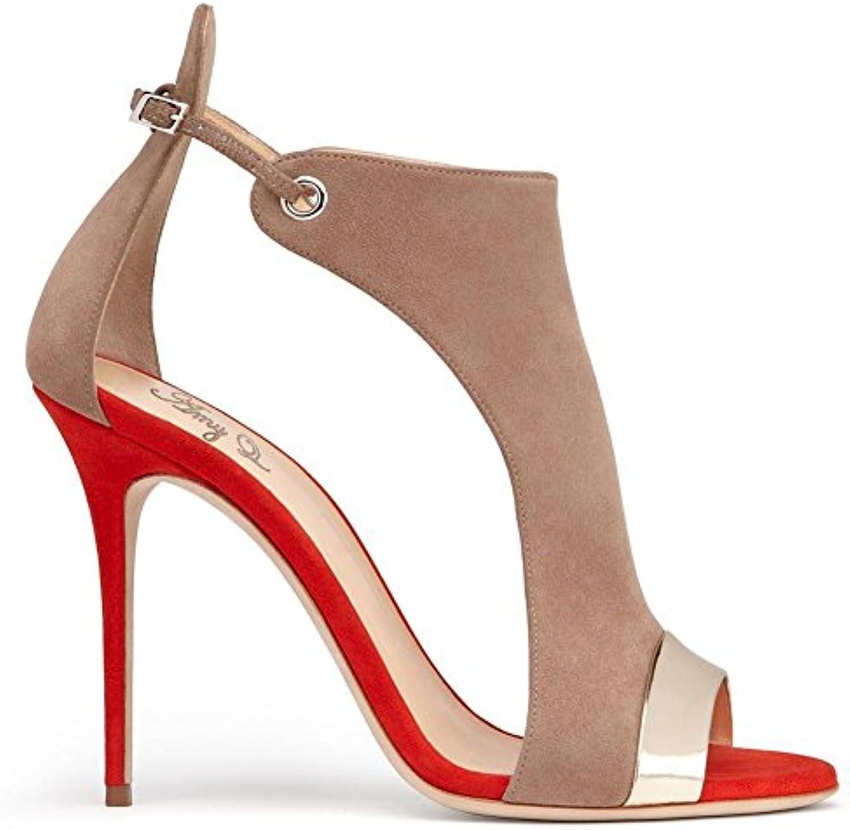 Talons Decollete D'été Femme À Hauts Pour Chaussures Sandales mode aw5Fq4yyP
