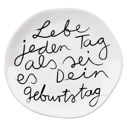 Dining Mix & Match Teller klein Lebe jeden Tag Dia:14cm -