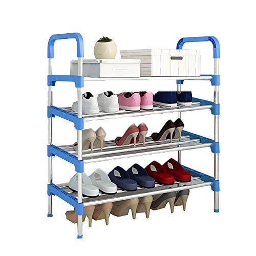 Multi-couche chaussure rack en fer forgé ensemble de crémaillère de chaussures de dortoir simple étagère de rangement de la chambre à coucher rack,60 * 30 * 80cm