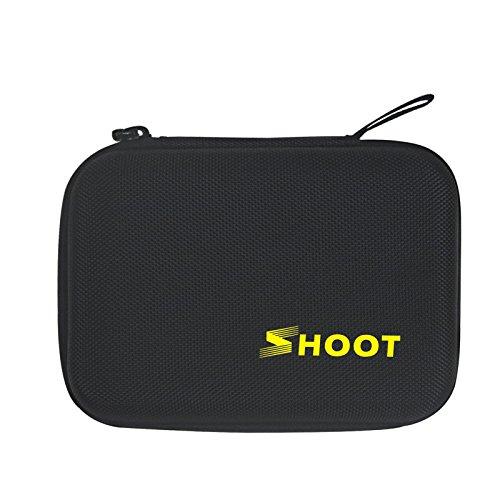 """SHOOT portátil (6,3"""" *4,8"""" *2,8"""" ) pequeña tamaño caja de almacenamiento caso para Gopro Hero 5 4 3+ 3 SJ4000 SJ5000 SJ6000 cámaras"""