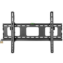 Duronic tvb103m Super Heavy Duty Premium abschließbar schwarz universal 83,8cm-65LCD/Plasma/LED/3D/4K TV Wandhalterung Neigung mit [Sicherheit Locking Bar]-Max VESA 600x 400