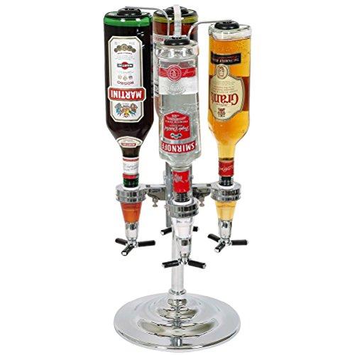 La chaise longue 24-CL048 - Dispensador de bebida (para 4 botellas)