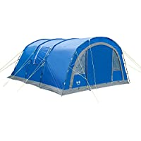 Trail 6 Person Family Tunnel Tent 4000mm HH Sewn In Groundsheet Camping Haytor