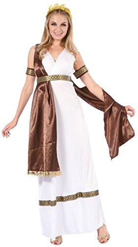 –Kostüm Erwachsene Damen Luxus Griechische Größe L/XL (Luxus Kostüme)